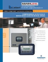 Brochure - Mainline Computer Products