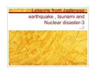 Lessons from the disasters in Japan-3