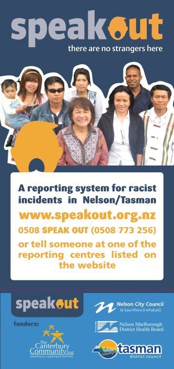 Rack card - Nelson Multicultural Council