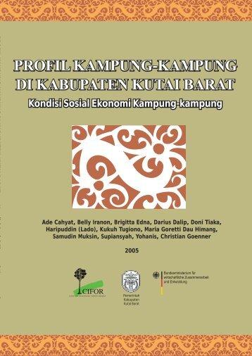 Profil kampung-kampung di Kabupaten Kutai Barat - Forest Climate ...