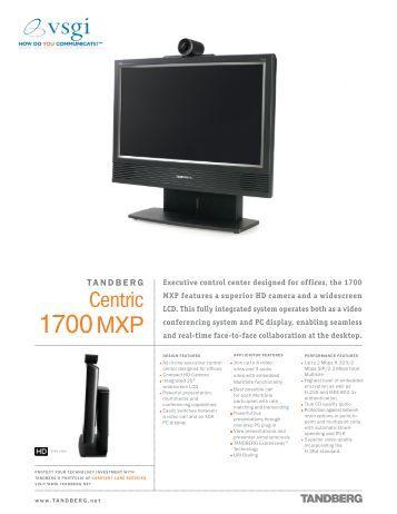 tandberg 3000 mxp profile installation guide
