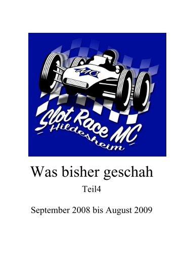 Fotoalbum 2008-2009 - Slotrace MC - Hildesheim