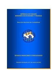 INFORME Resumen Consolidado Sector Publico MARZO 2012