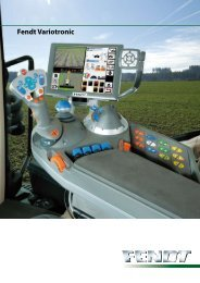 Fendt Variotronic Control Terminal - Chandlers