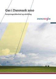 Gas i Danmark 2010 - Energinet.dk