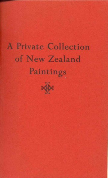 A Private Collection of New Zealand Paintins - Auckland Art Gallery