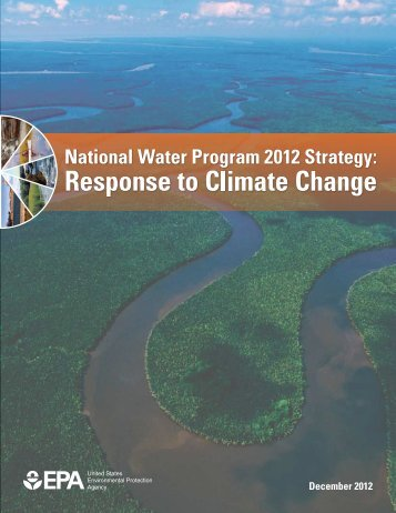 National Water Program 2012 Strategy: Response to Climate Change