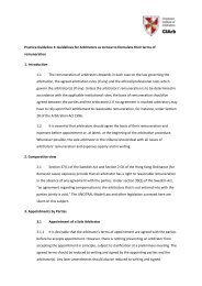 Practice Guideline 3: Guidelines for Arbitrators as to how to ...