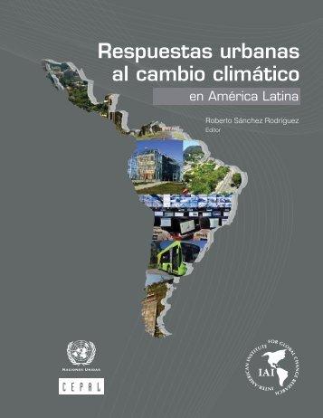 Respuestas urbanas al cambio climático