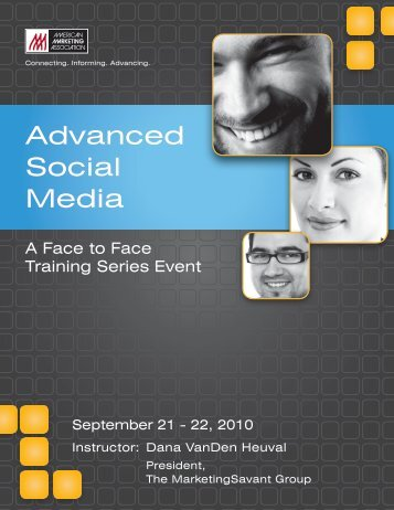 Workbook from AMA Advanced Social Media ... - MarketingSavant