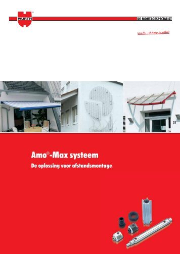 Bekijk de Amo-Max brochure - Würth Nederland
