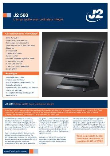J2 580 - J2rs.com - J2 Retail Systems