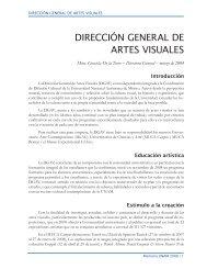 DIRECCIÓN GENERAL DE ARTES VISUALES