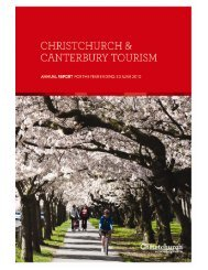 CCT Annual Report 2010 - Christchurch and Canterbury