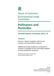 Pollinators and Pesticides - Center for Food Safety
