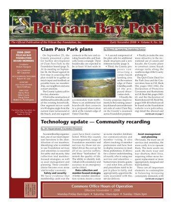 Early November 2008 - Pelican Bay