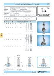 Druckregler aus Edelstahl, auch für Pharmazie R70