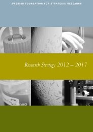 Research Strategy 2012 – 2017 - The Swedish Life Science Industry ...