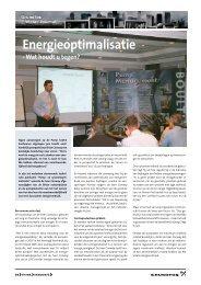 Energieoptimalisatie - Grundfos E-Newsletter