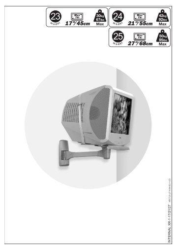 "21""/55cm 17""/45cm 27""/68cm - AHG-Electronic"