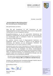 DER LANDRAT - Energieagentur Oberfranken e.V.