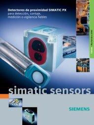 Detectores de proximidad SIMATIC PX para detección, contaje ...