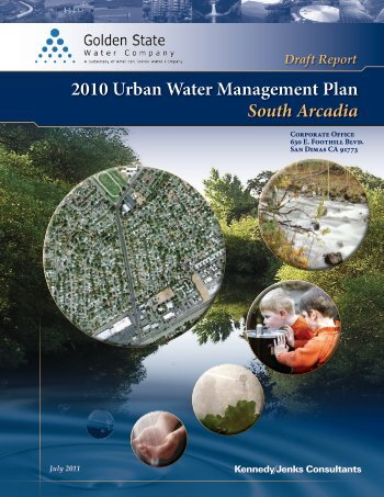Draft Report 2010 Urban Water Management Plan—South Arcadia