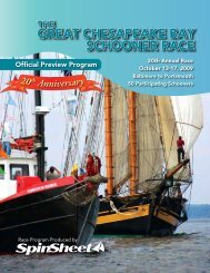 2009 Official Preview Program - The Great Chesapeake Bay ...