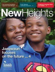 Jaeqwaun focuses on the future ... 4 - Youth Villages