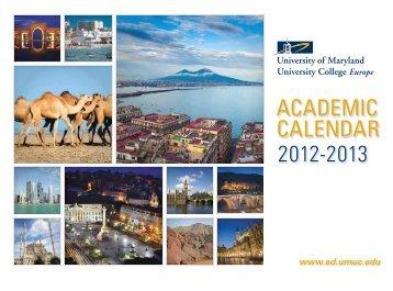 Wall Calendar 2012-2013