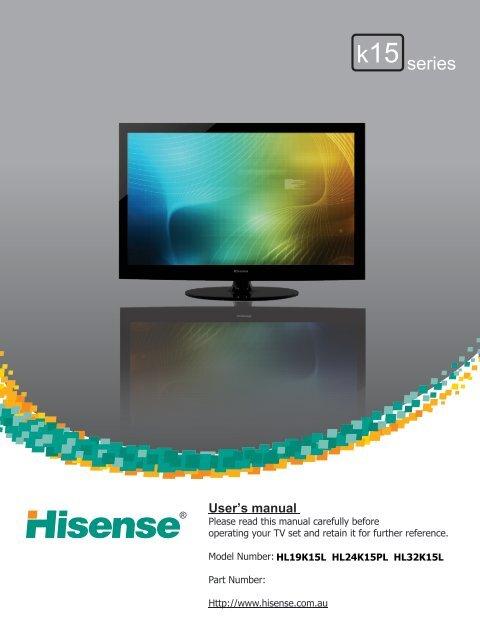 Product Manual - Hisense