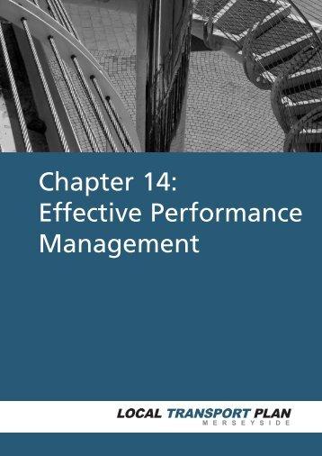 LTP 2006/11 Chapter 14 Effective Performance Management