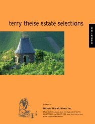 terry theise estate selections - Riesling Report