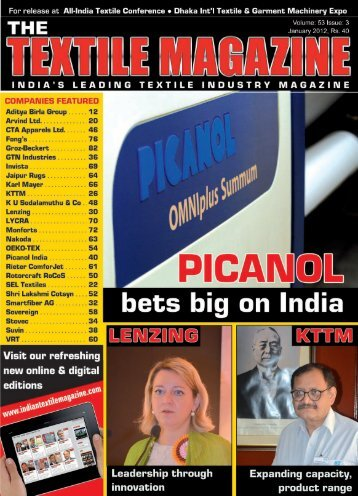 policy initiatives - Textile Magazine