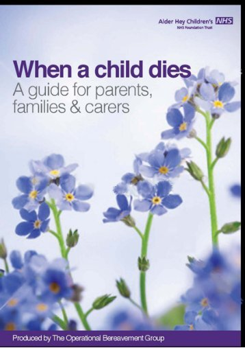 Contents - Alder Hey Childrens Hospital