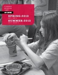 Spring & Summer brochure - Currier Museum of Art
