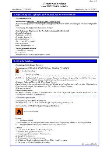 SDB Metaflux 75-56 Edelstahlpflege