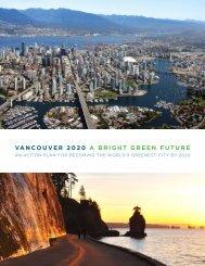VANCOUVER 2020 A BRIGHT GREEN FUTURE