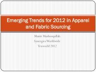 Emerging Trends for 2012 in Apparel and Fabric Sourcing - Lenzing ...