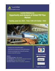 Opportunity and Analysis of Global FRP Pipe Market - Lucintel