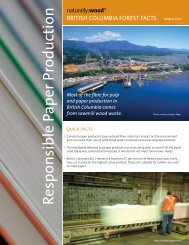 Responsible Paper Production - Naturally:wood