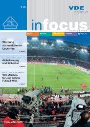 VDE InFocus 11.05.06