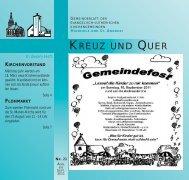 August/September 2011 - Ev-luth. Kirchengemeinde Hannover ...