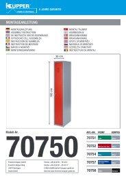 Montageanleitung 70751 70752 70754 70757 70756 - Friedrich ...
