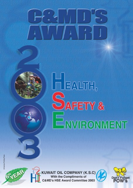 HSE Booklet@A4 - Kuwait Oil Company