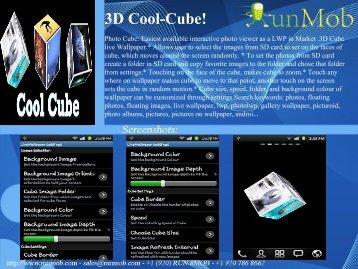 3D Cool-Cube! - RunMob