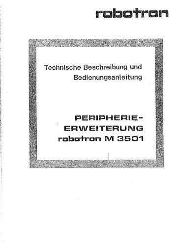 M 3501 Doku 1. Teil