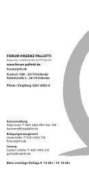 Programmheft 2014 - Forum Vinzenz Pallotti