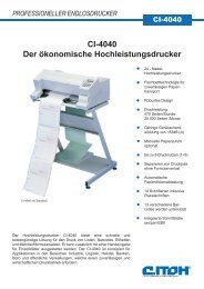 Matrixdrucker CI-4040
