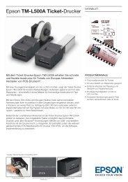 Epson TM-L500A Ticket-Drucker